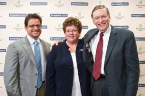 Mark Attanasio, Chancellor Biddy Martin and Allan H. 'Bud' Selig