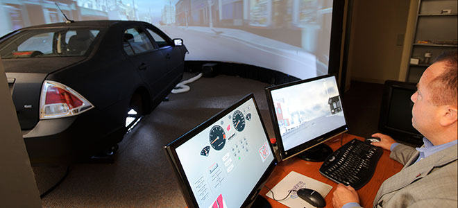 Driving Simulation Laboratory