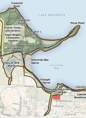 Lakeshore Map