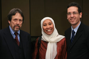 Image Captions Professor Charles L. Cohen, LISAR's Graduate Fellow Rohany Nayan and former Student Fellow Simon Dick